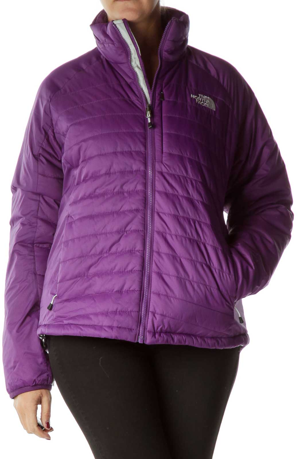 Purple PrimaLoft Padded Coat