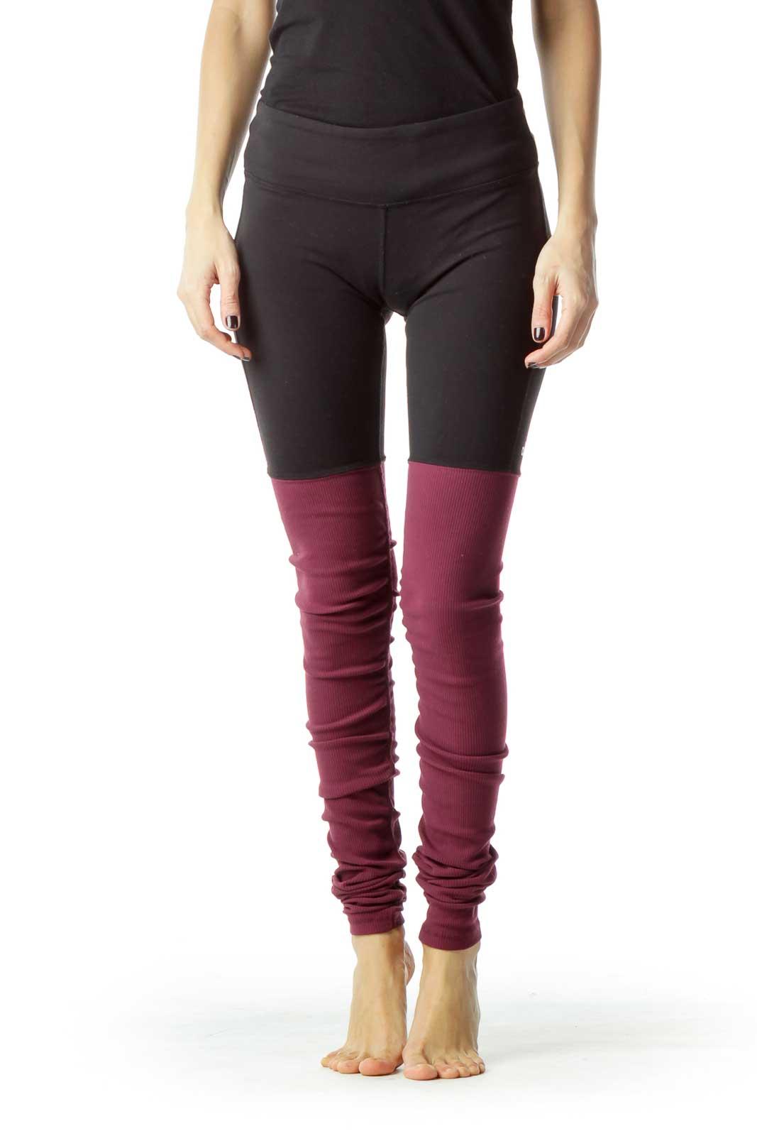 Black Red Yoga Pant