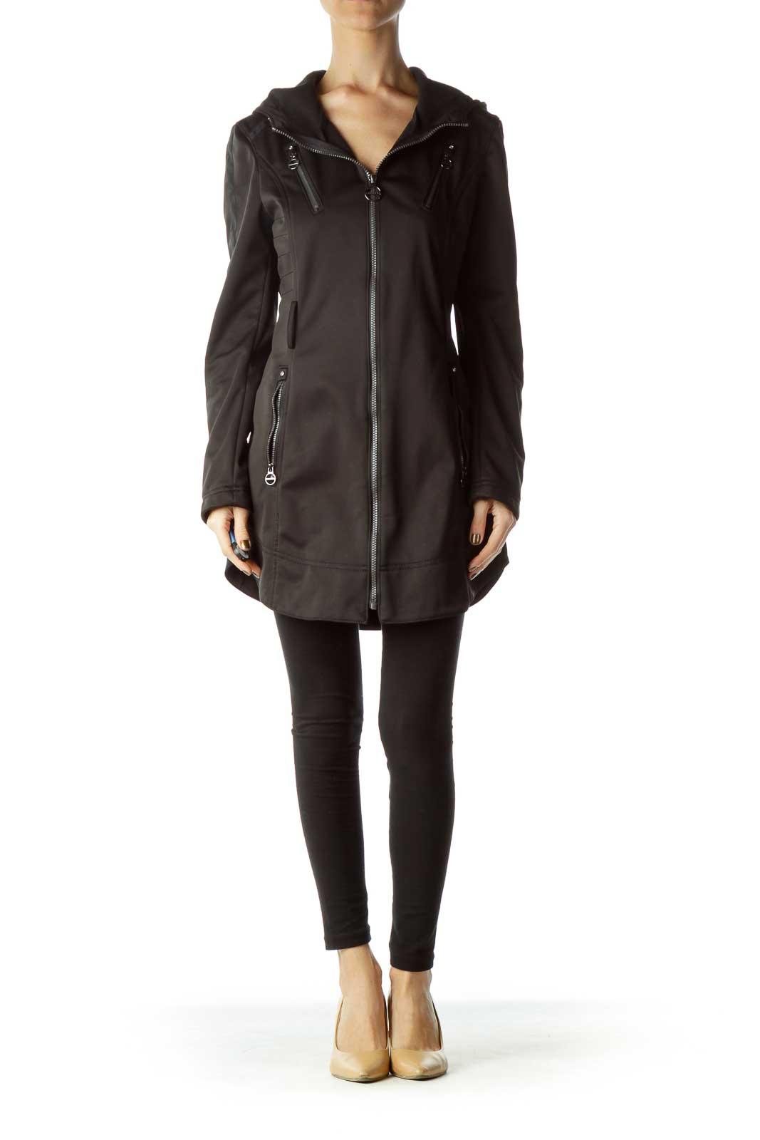 Black Softshell Coat