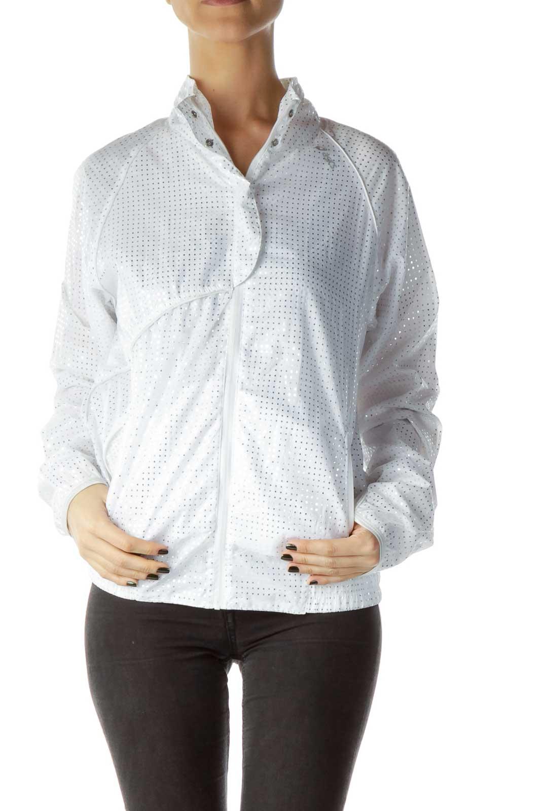 White Shiny Active Jacket
