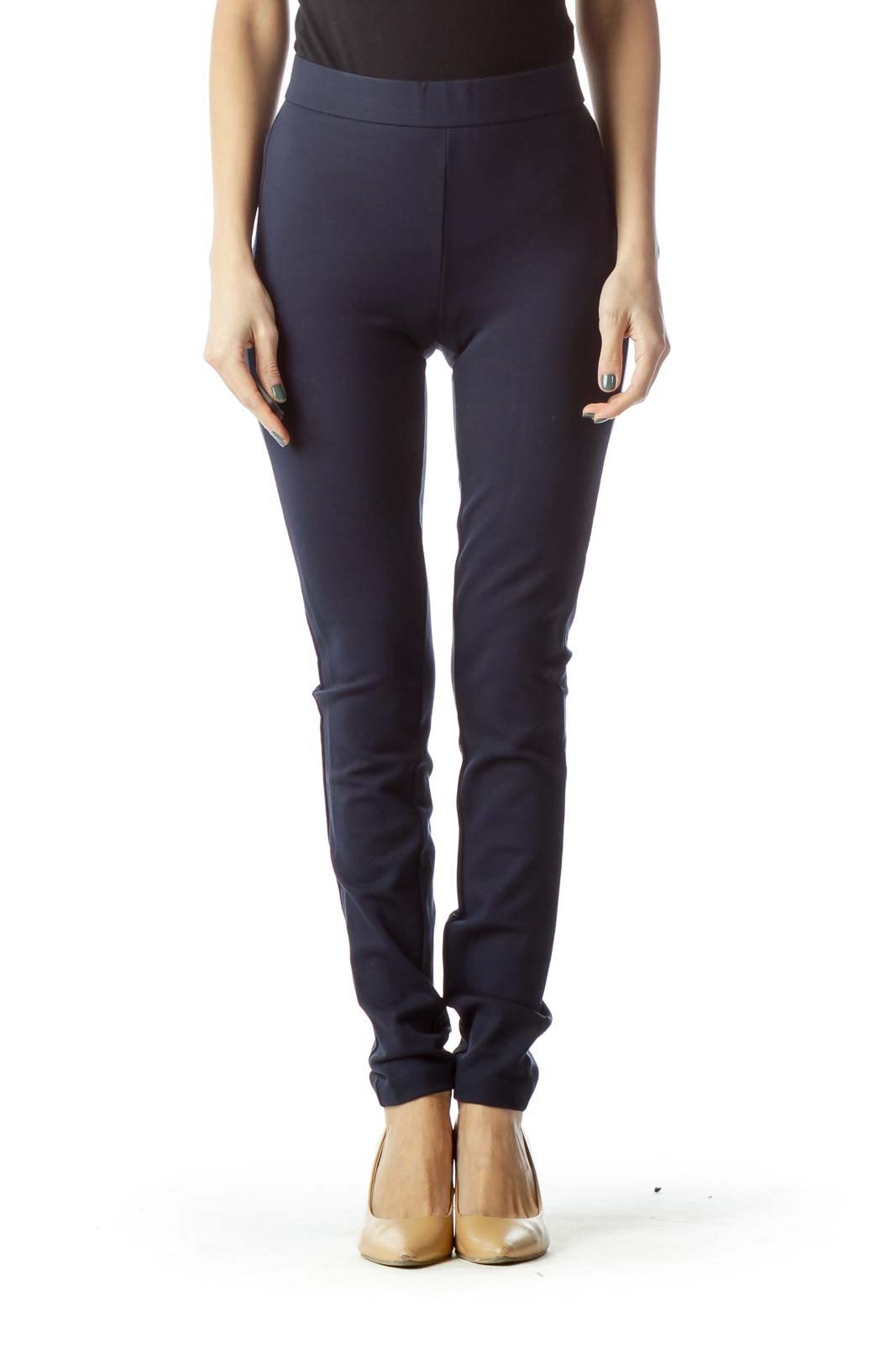 Navy Tall Work Legging
