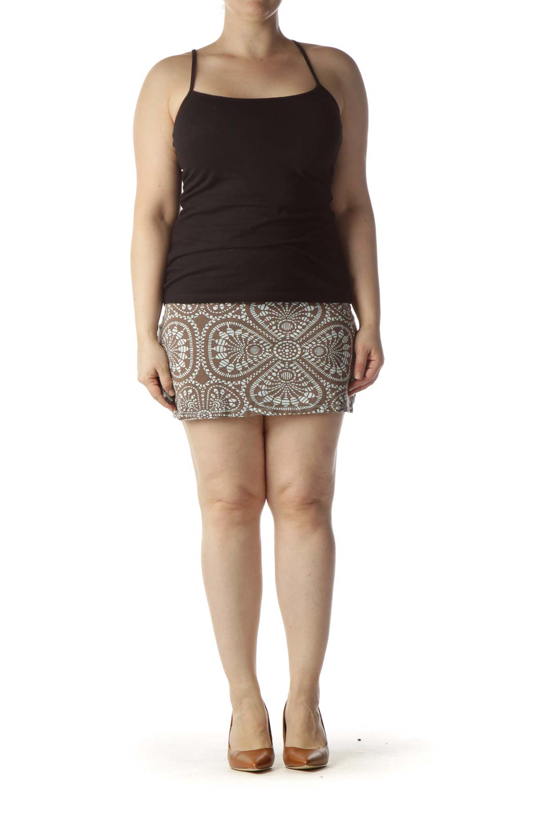 Brown Sport Skirt