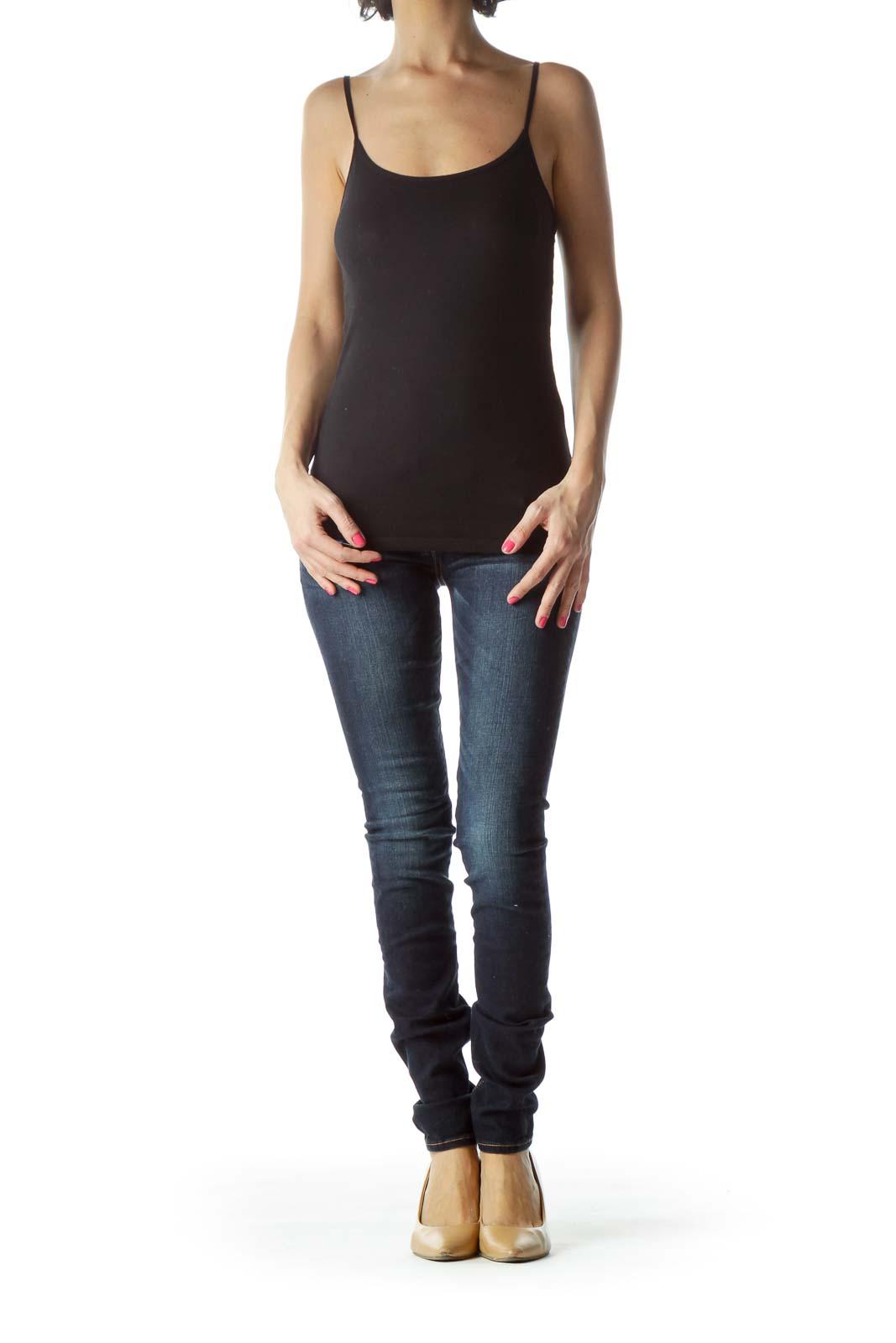 Navy Dark Wash Skinny Jeans
