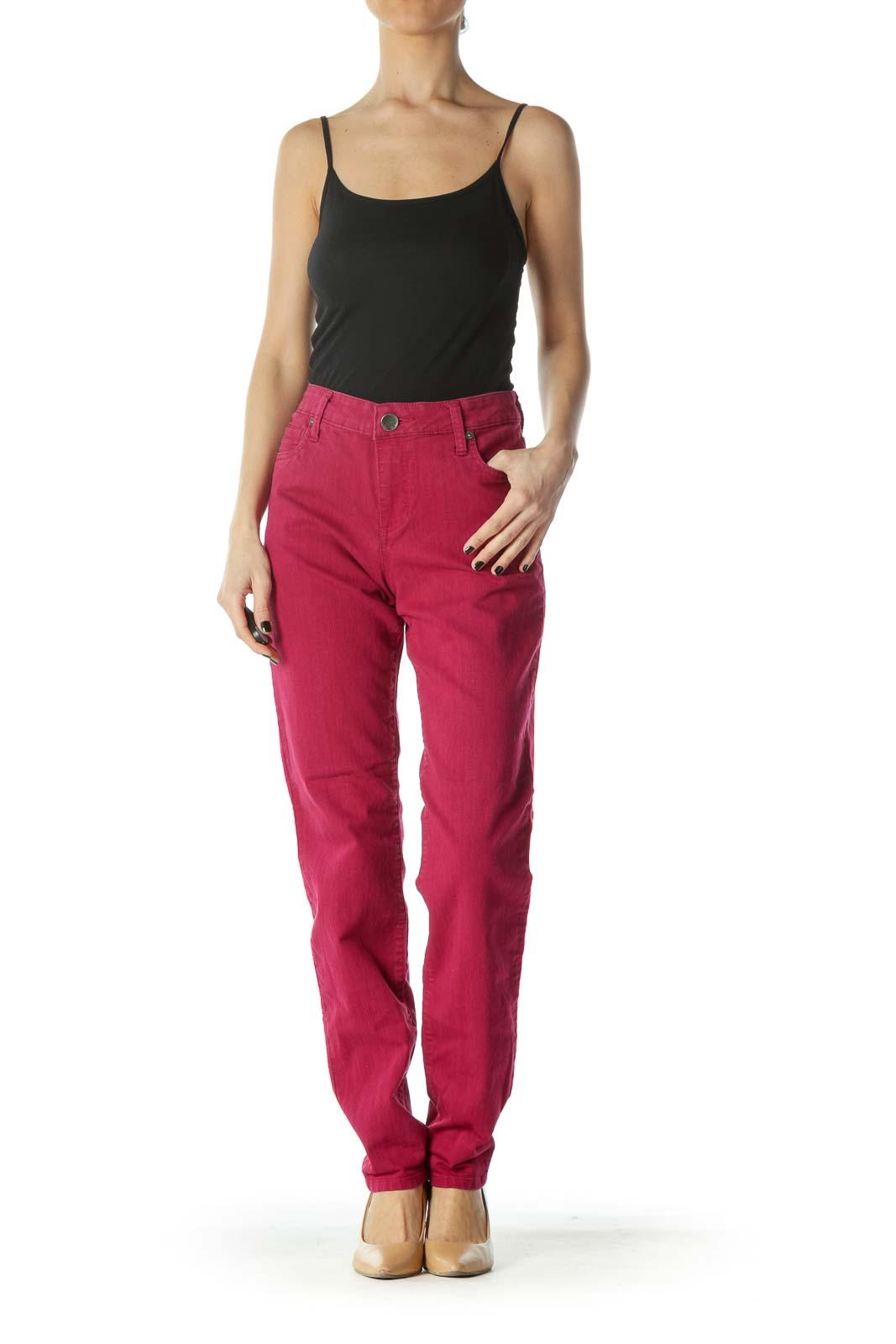 Pink DIANA Skinny Denim Jean