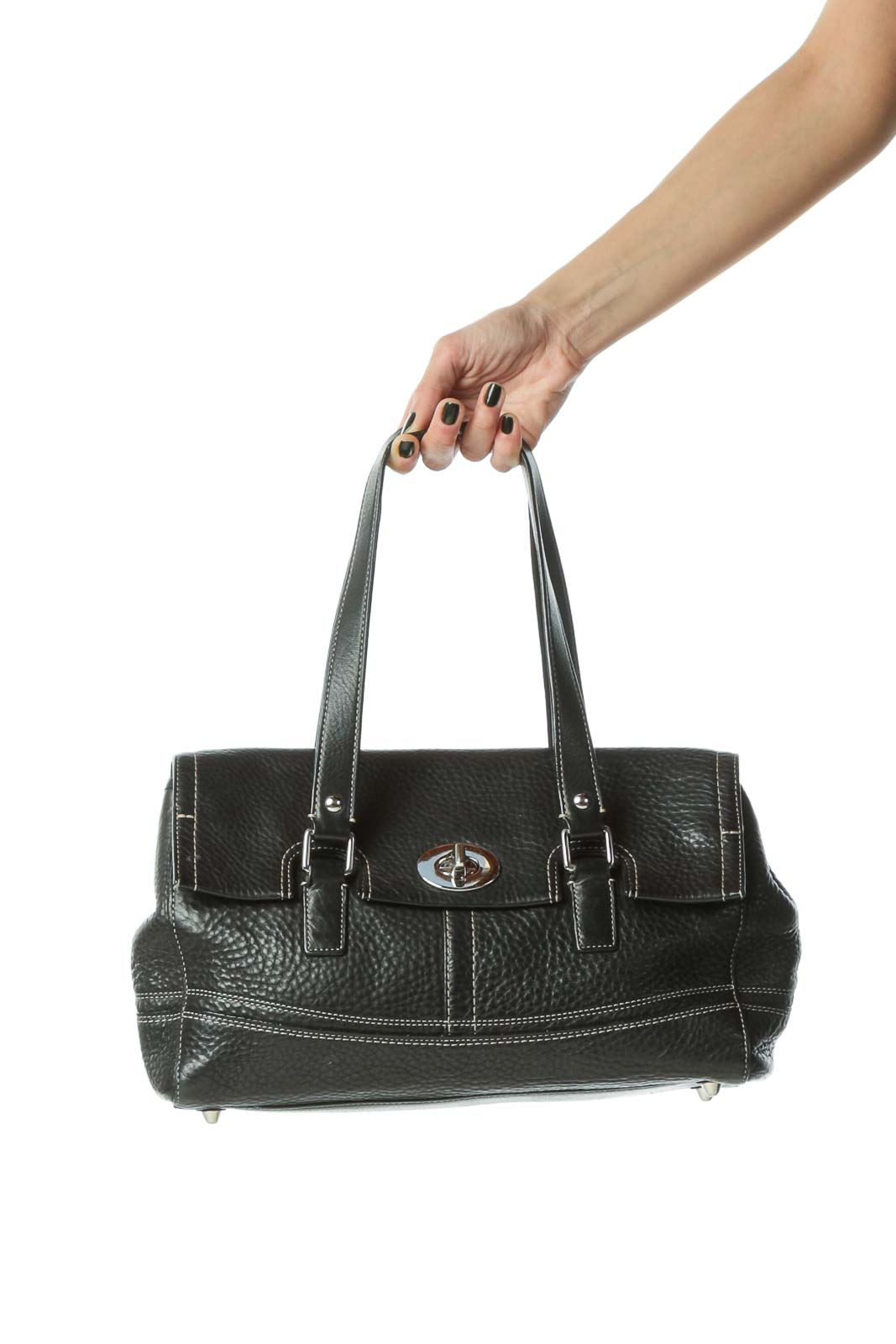 Black Luxury Duffel Bag
