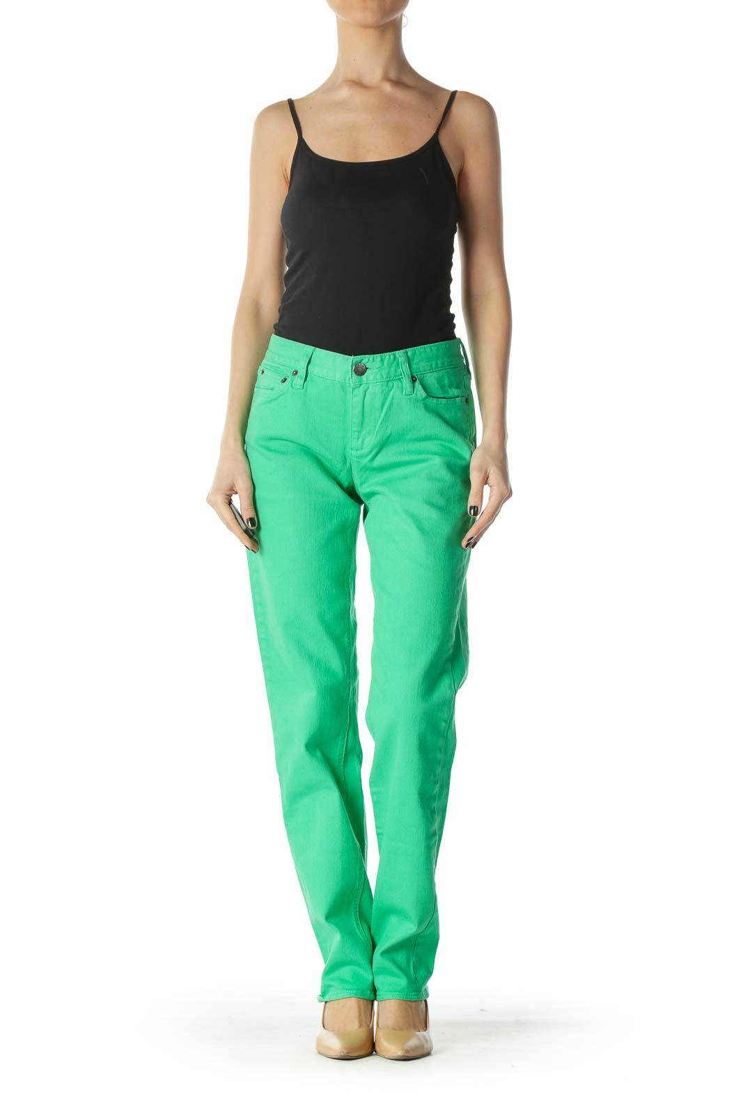 Green Matchstick J.Crew Jeans