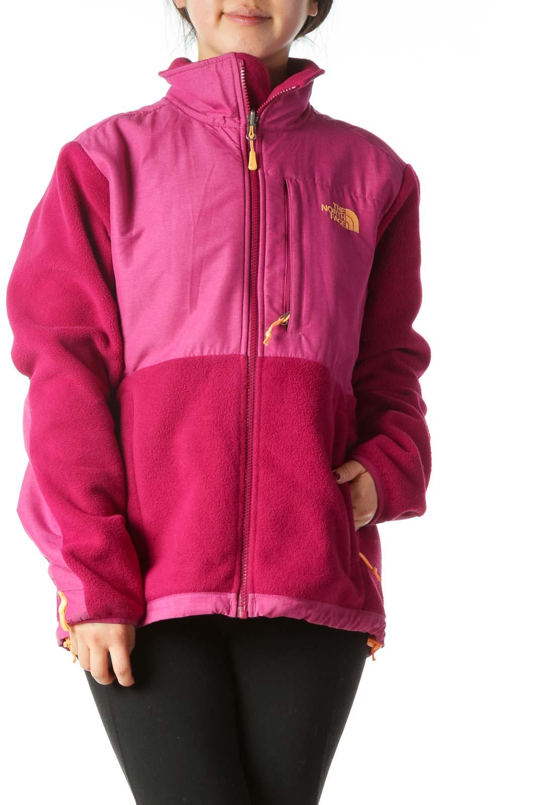 Hot Pink North Face Jacket