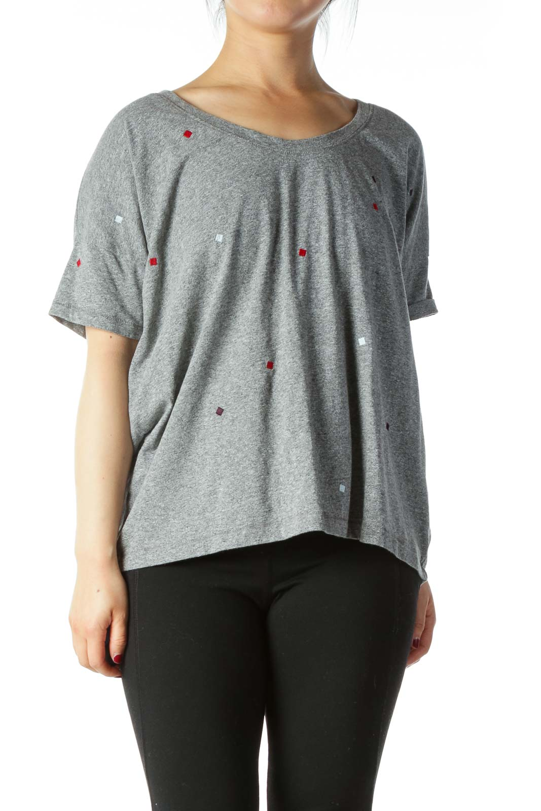 Grey Loose T-shirt