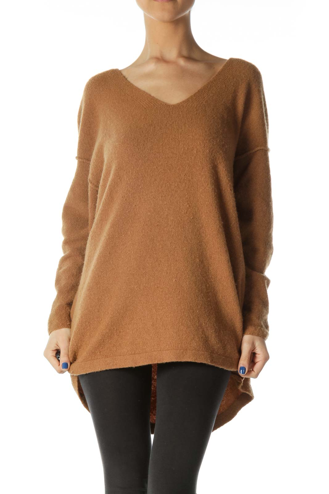 Brown Cozy Sweater