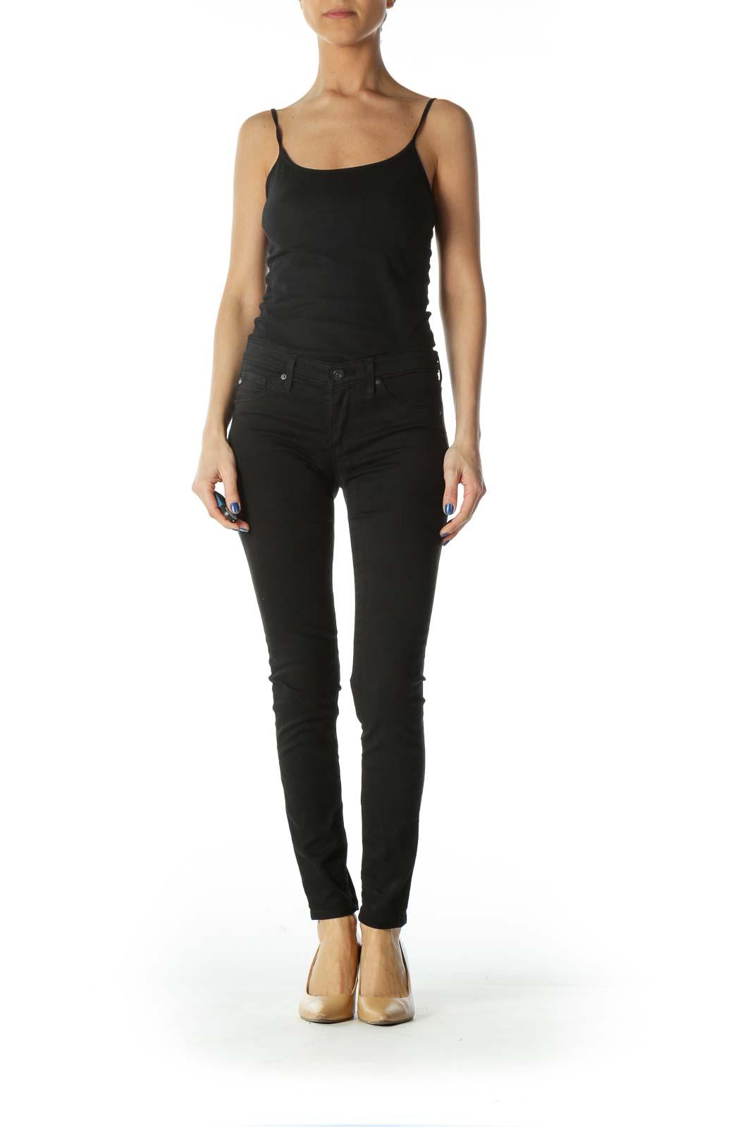 Black Skinny Stretch Pants