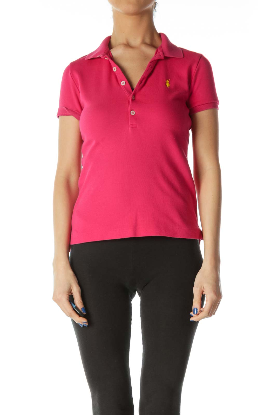 Hot Pink Polo Shirt