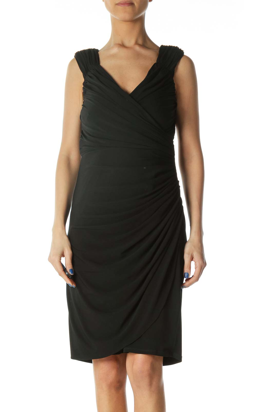 Black Bodycan Cocktail Dress