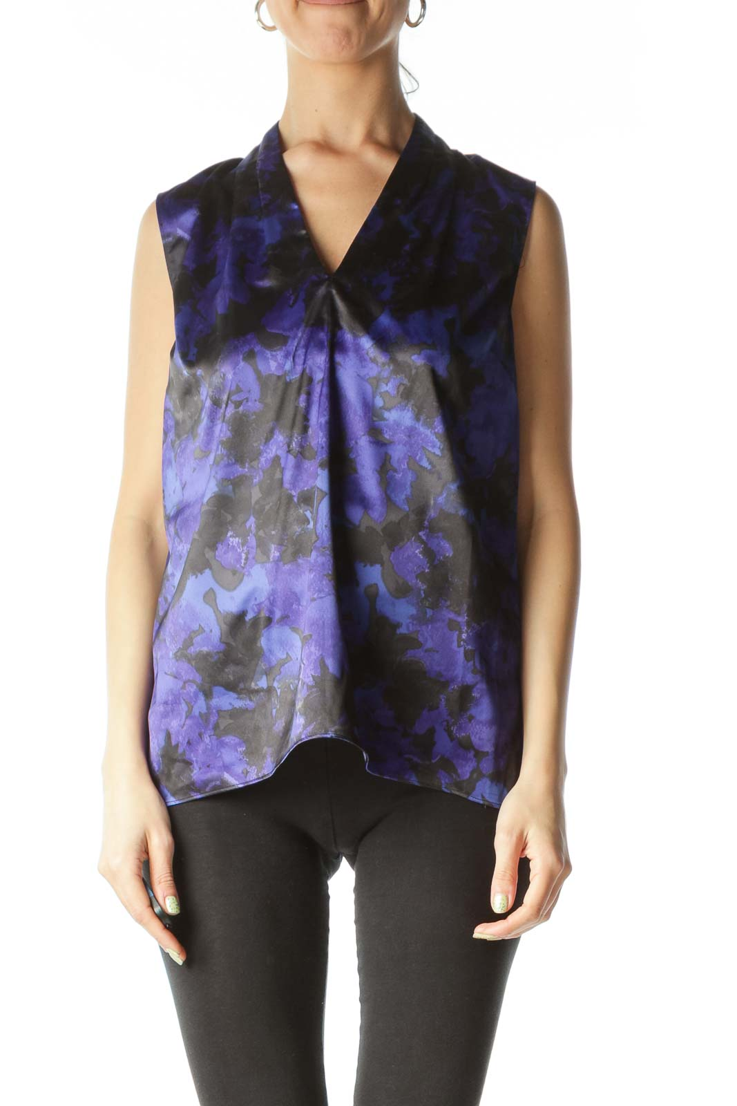 Multicolor Sleeveless Blouse