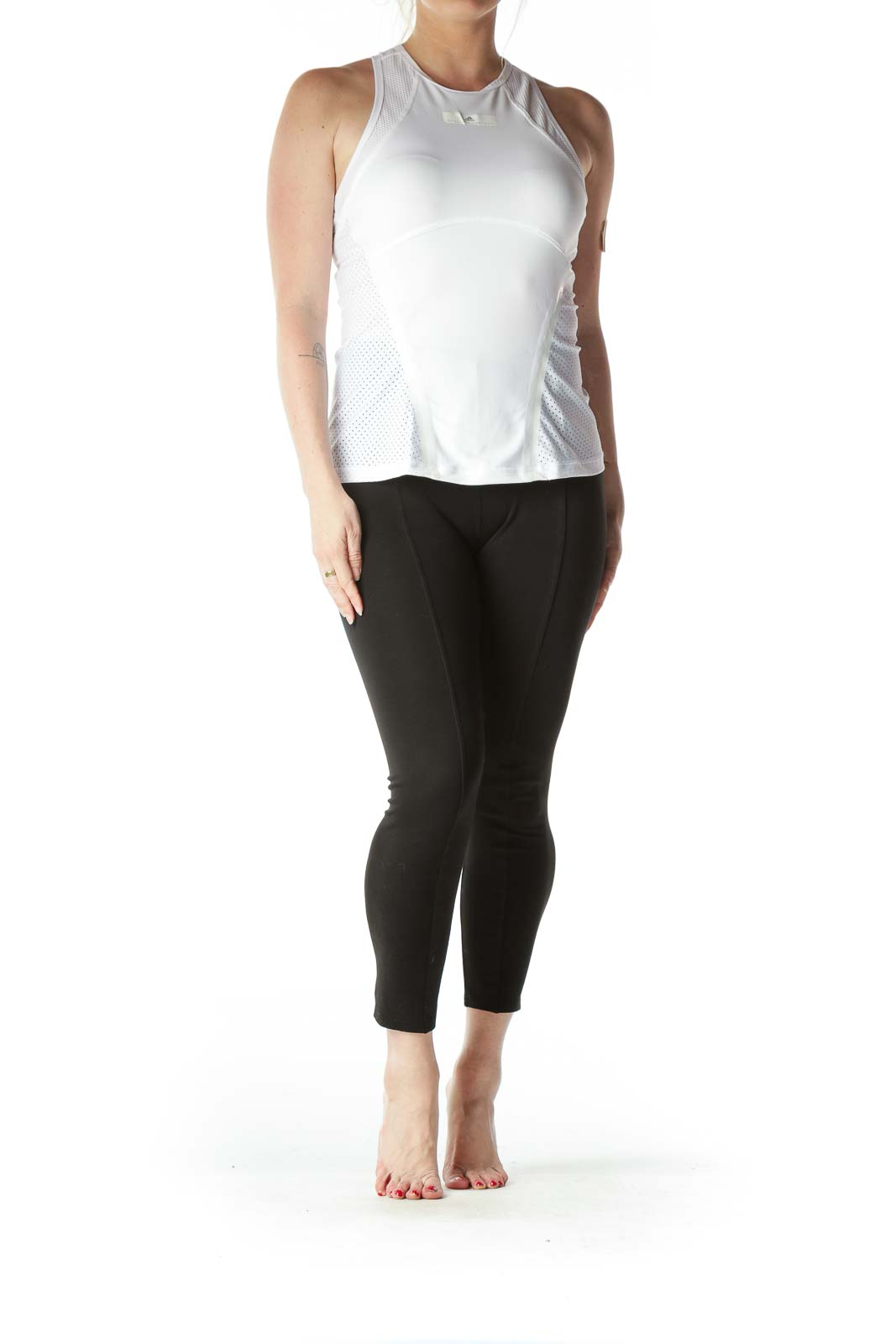 White Stella McCartney Sports Top