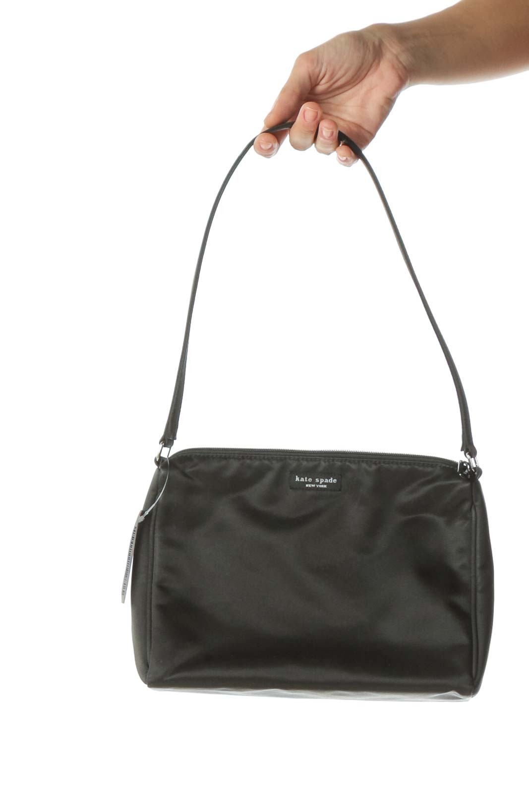 Black Single Strap Shoulder Bag