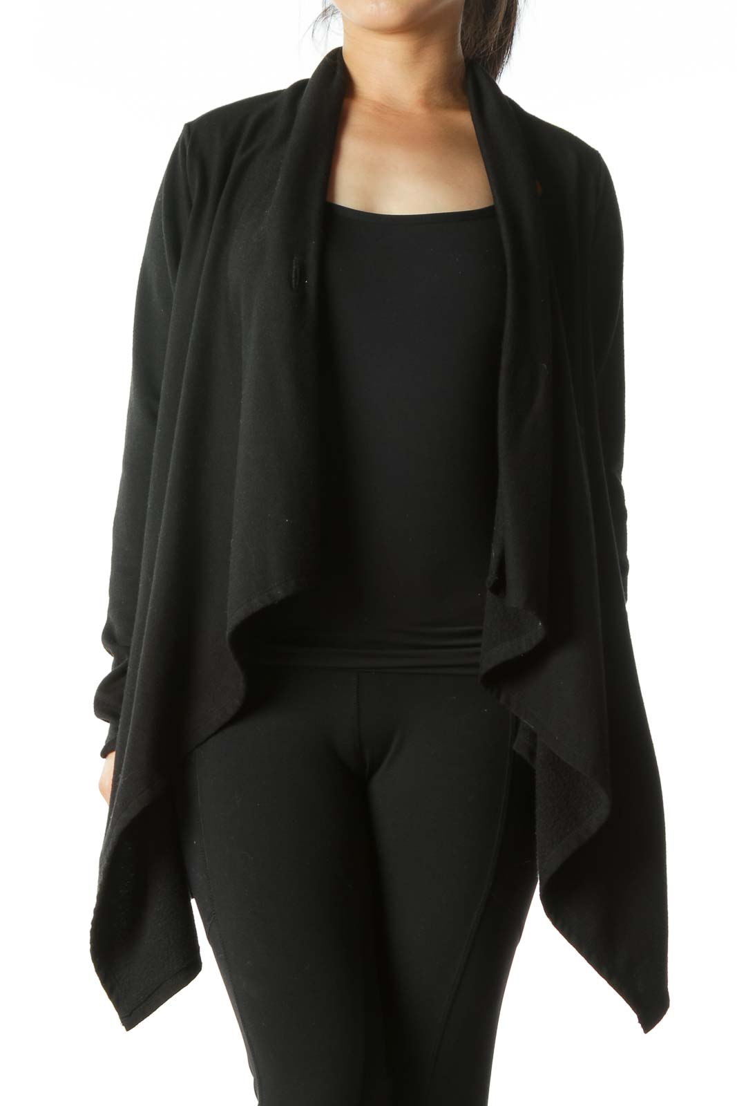 Black Poncho Jacket