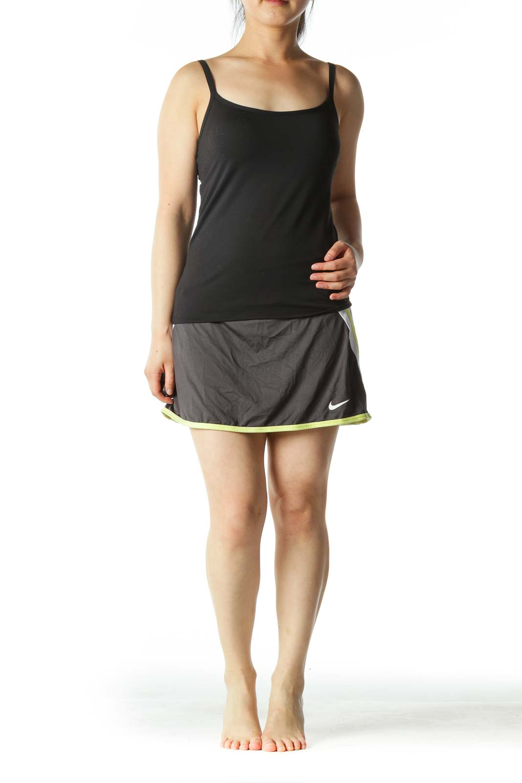 Black Sport Skirt with Shorts