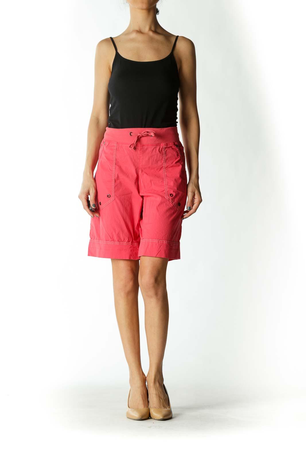 Pink Cargo Shorts