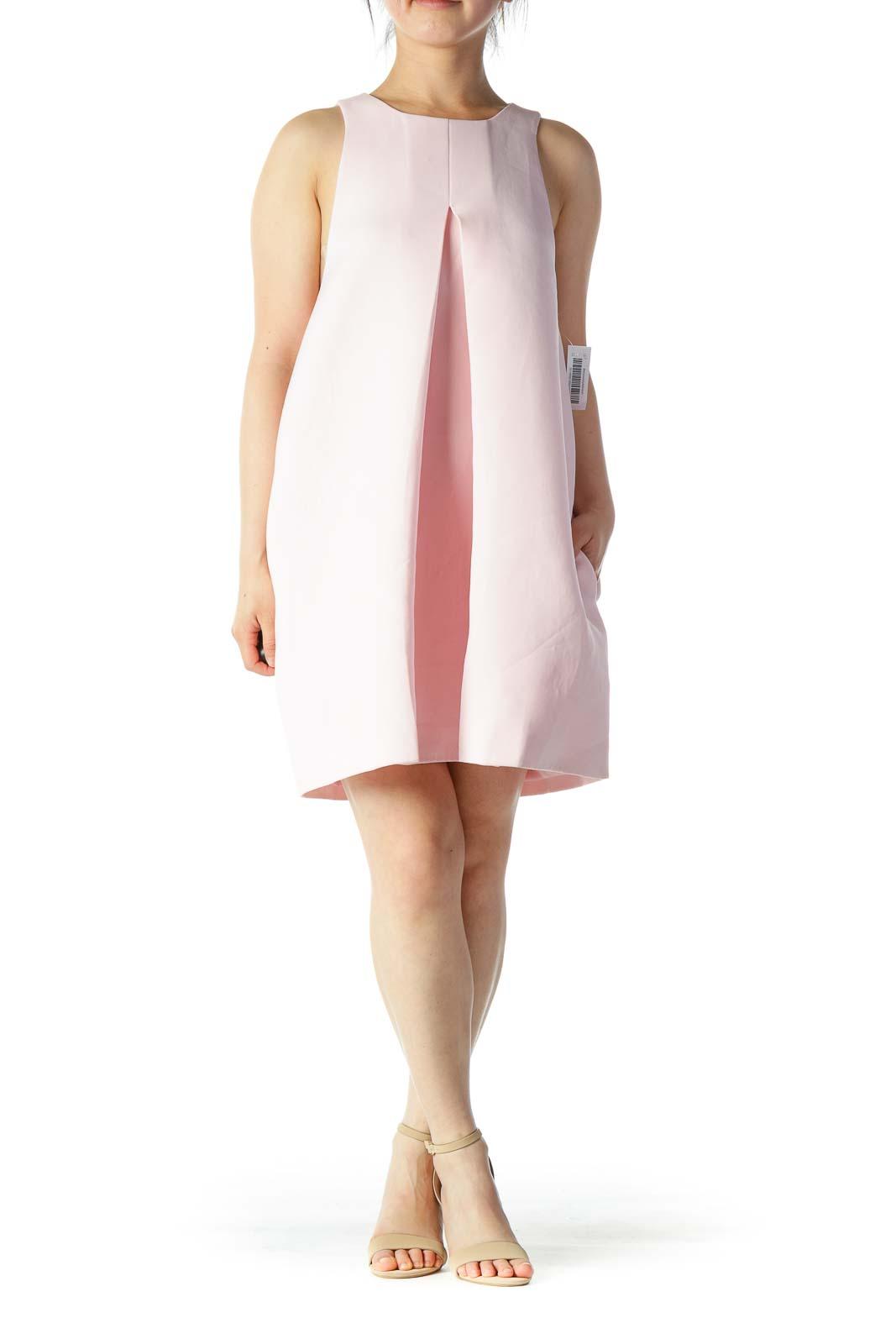 Pink Shift Work Dress