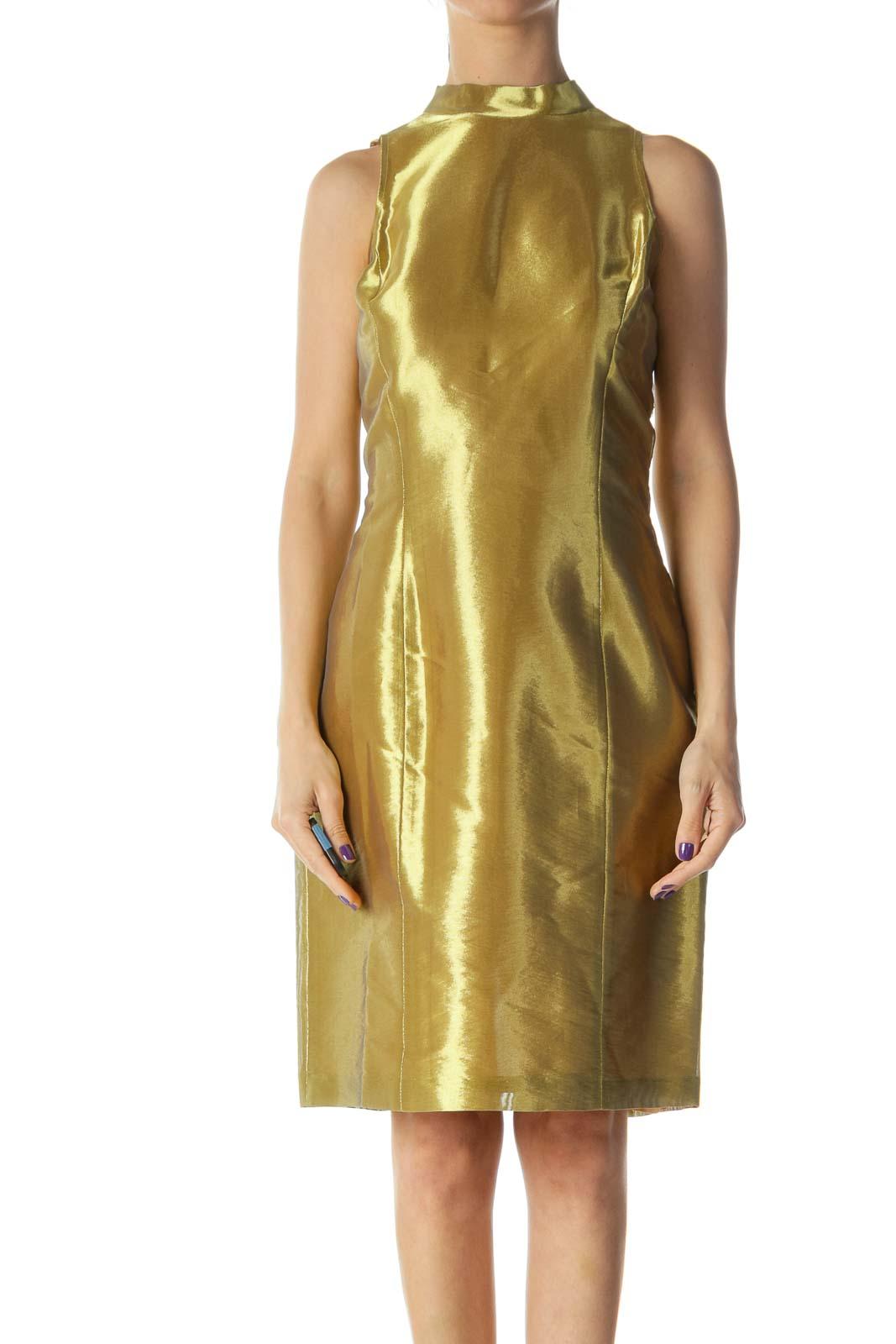 Gold Tent Dress