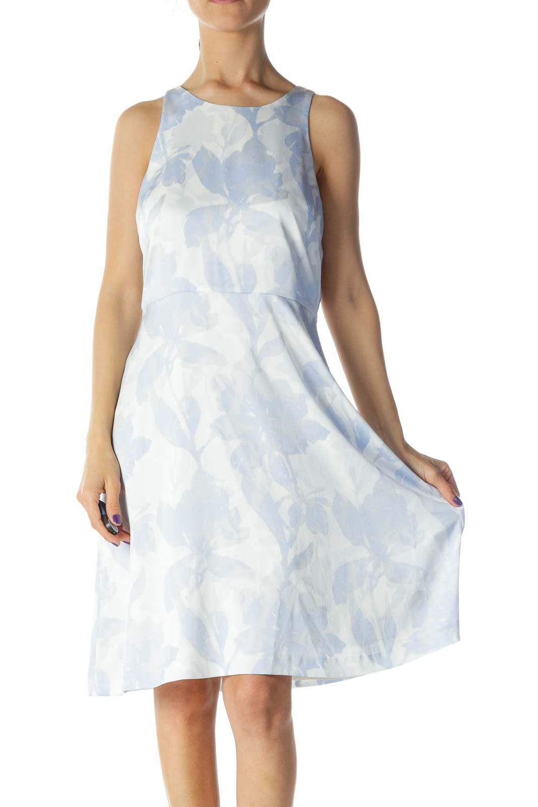 Light Blue Work Dress