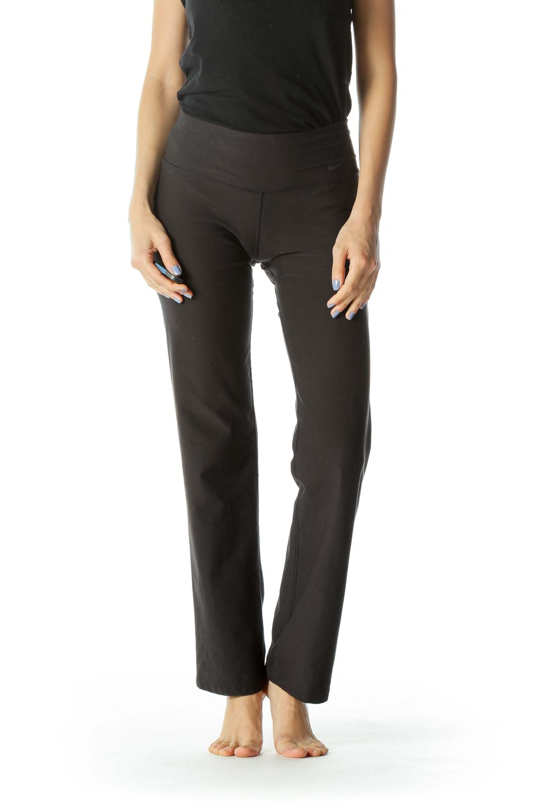 Black Stretch Activewear Pants