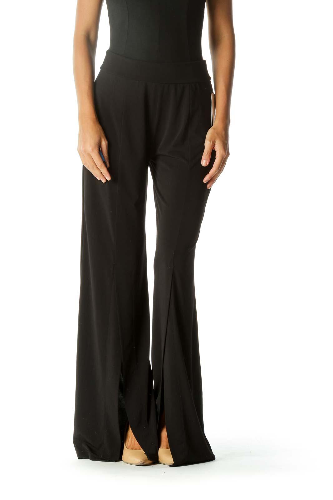 Black Wide-Leg Pant