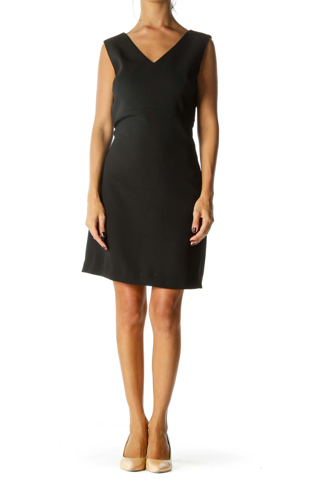 Black Slip Working Dress