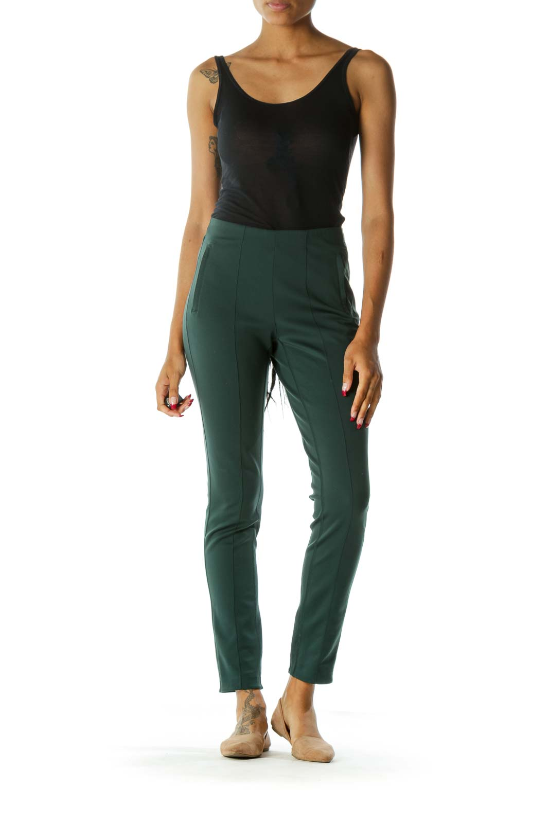 Green Sports Pant