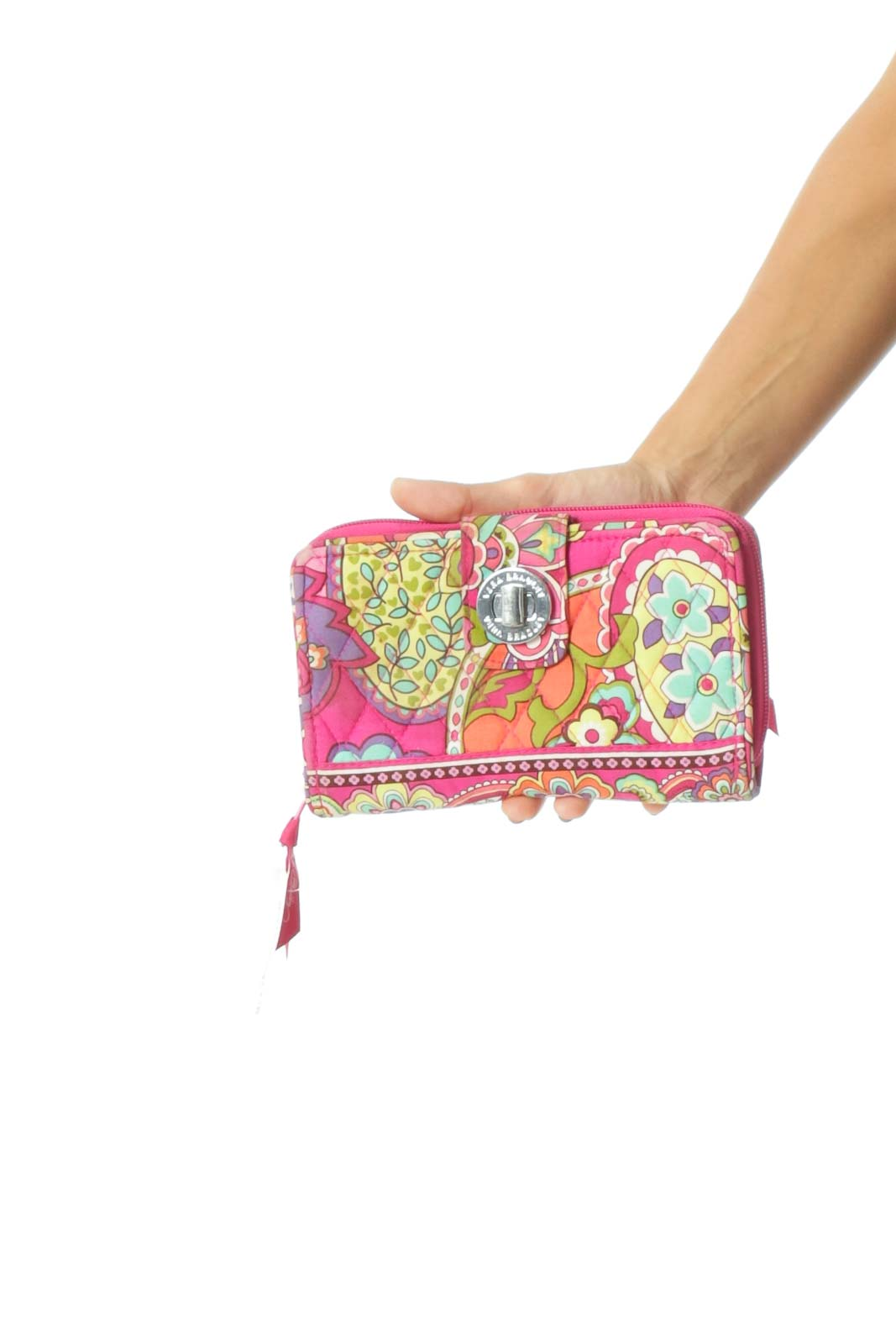 Multicolor Quilted Wallet