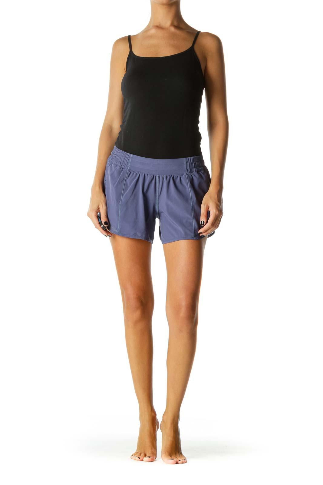 Purple Sporty Shorts