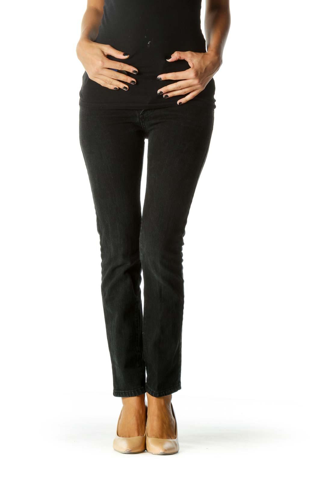 Black Classic Wash Skinny Jeans