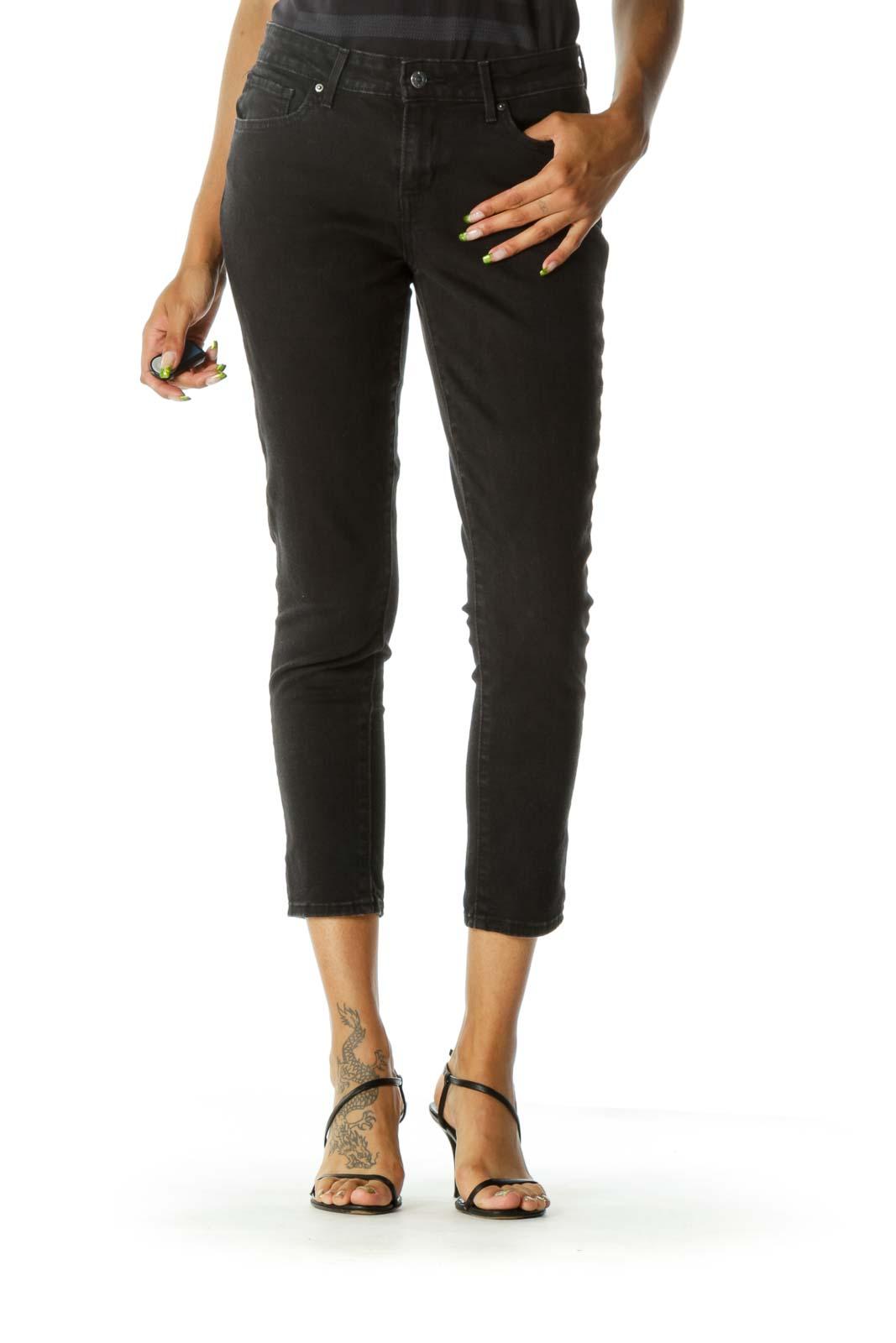 Black Classic Skinny Jeans
