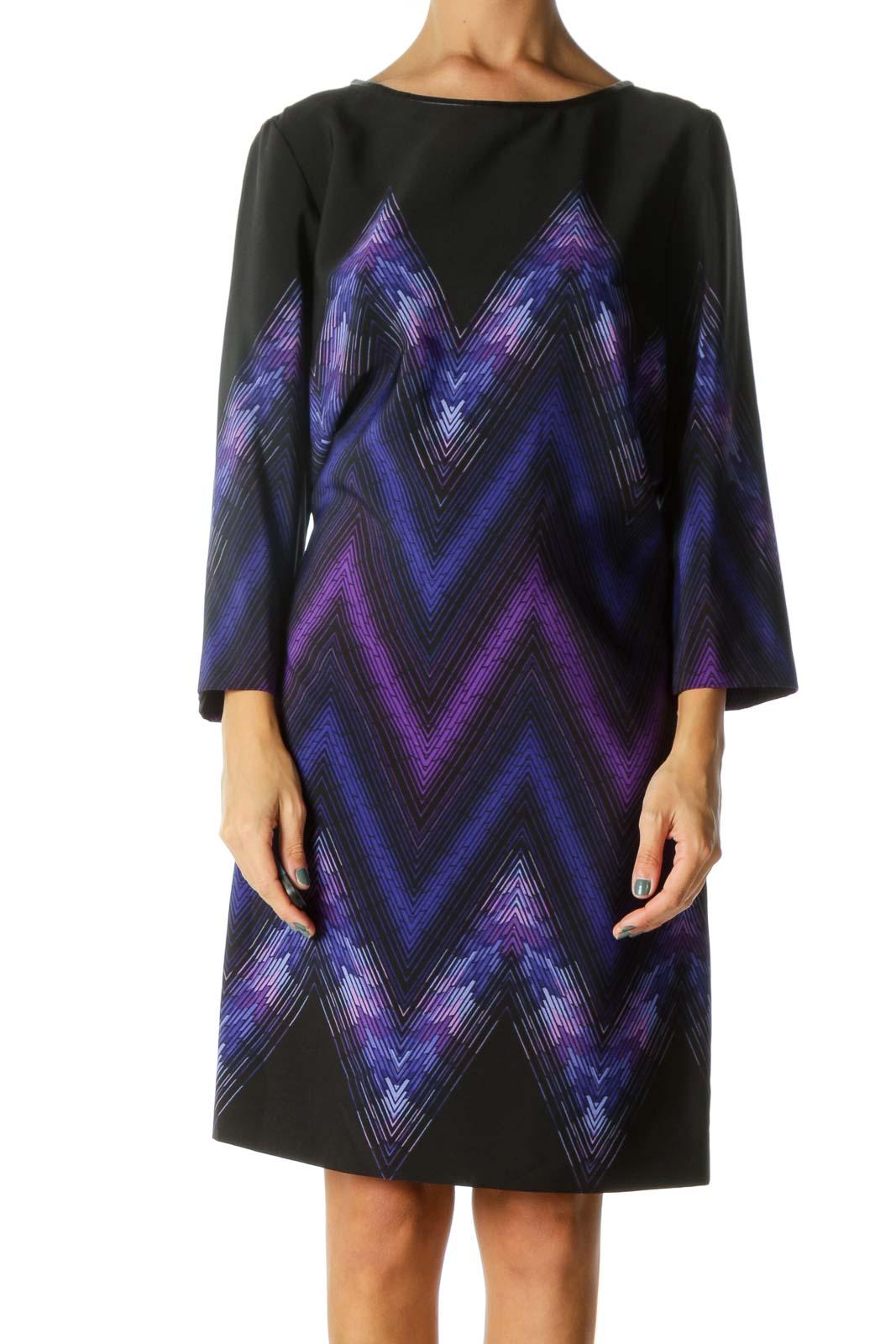 Multicolor Work Dress