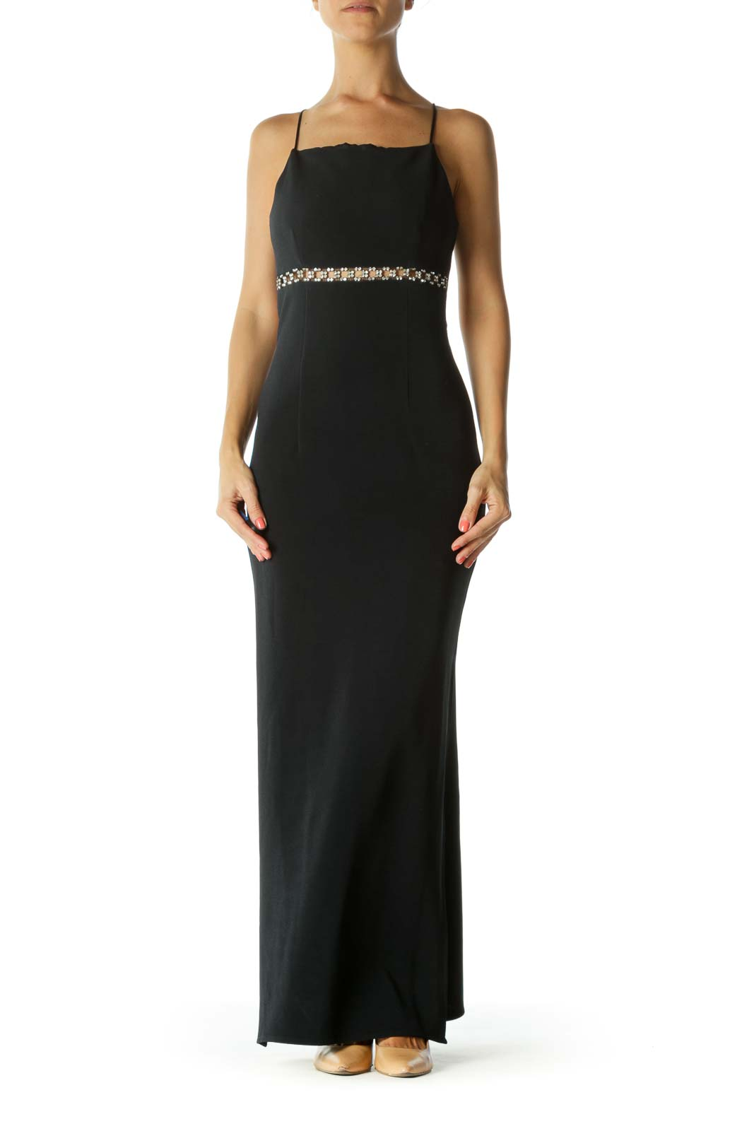 Black Diamond Evening Dress