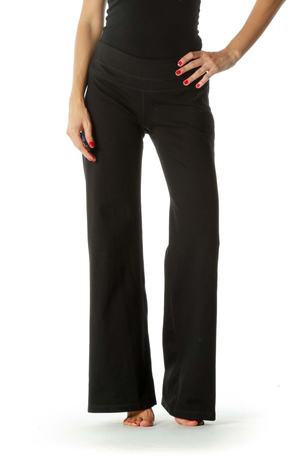 Black Stretch Active Pants