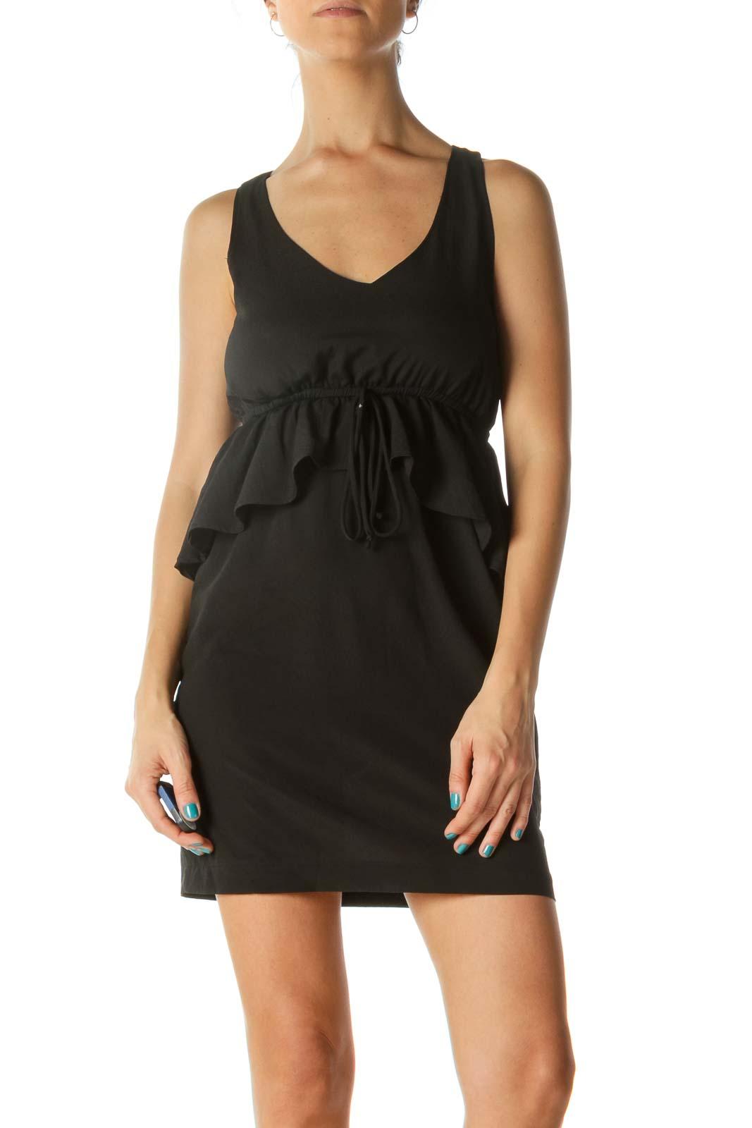 Black Round Neck Dress