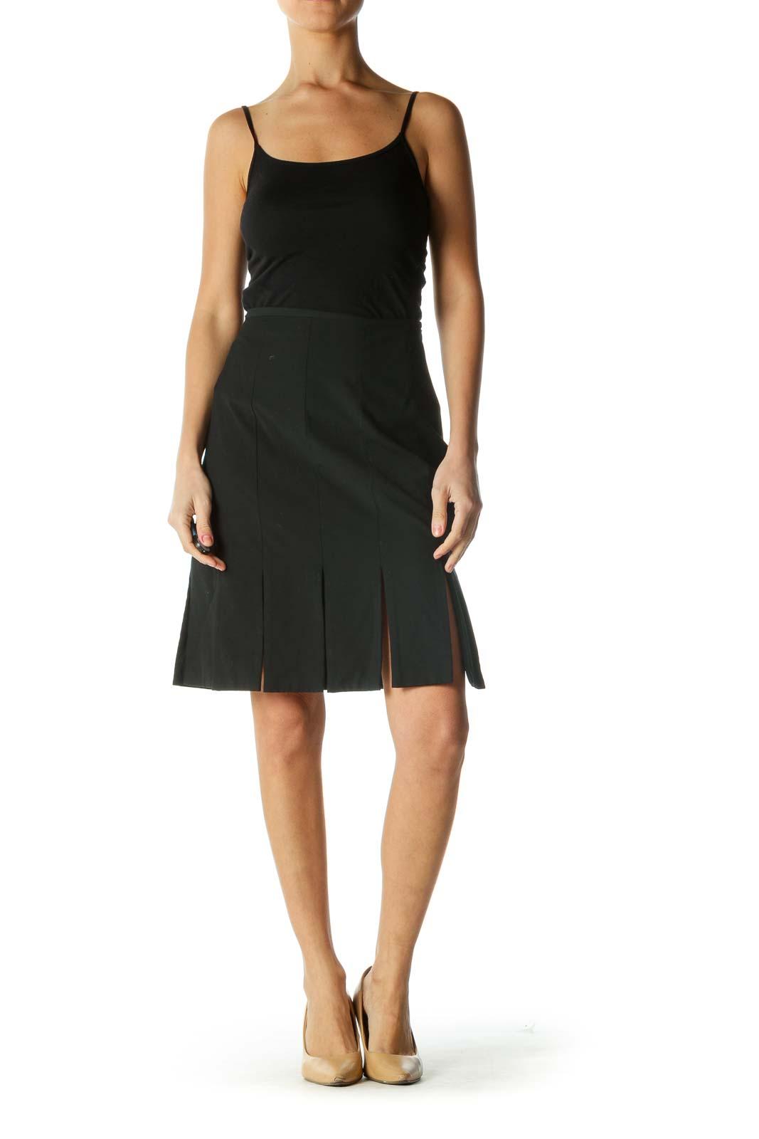 Black Pencil Skirt Cutout