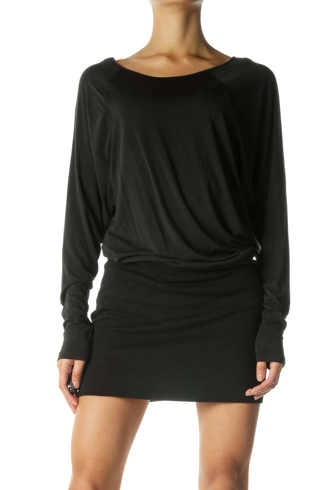 Black Bodycon Long Sleeve Dress