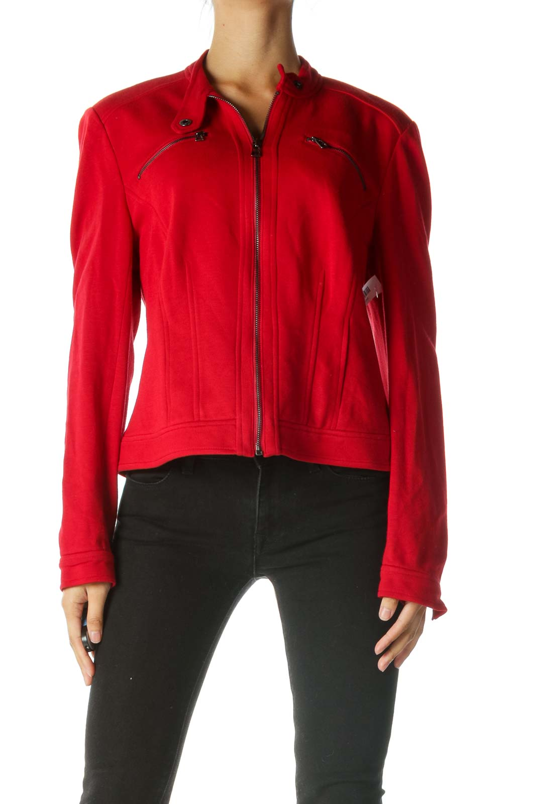 Red Fitted Jacket