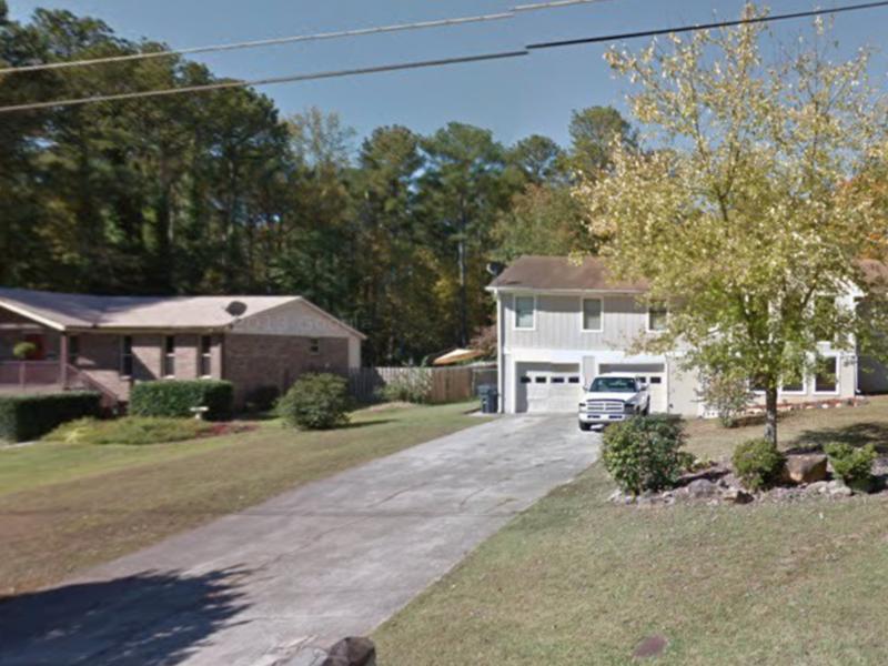 two story home in Marietta, GA