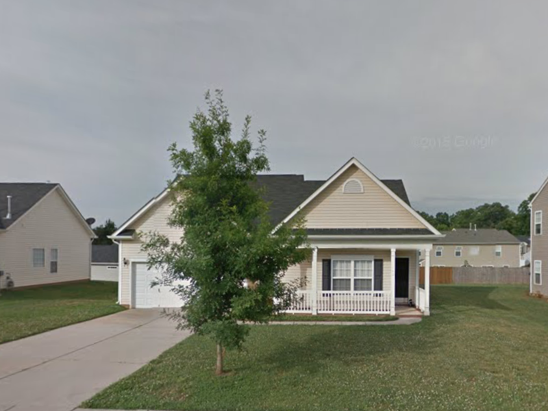 single family house in Lincolnton, NC