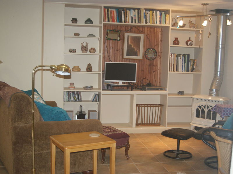 clean and light furnished basement kitchen&bath in Longmont, CO