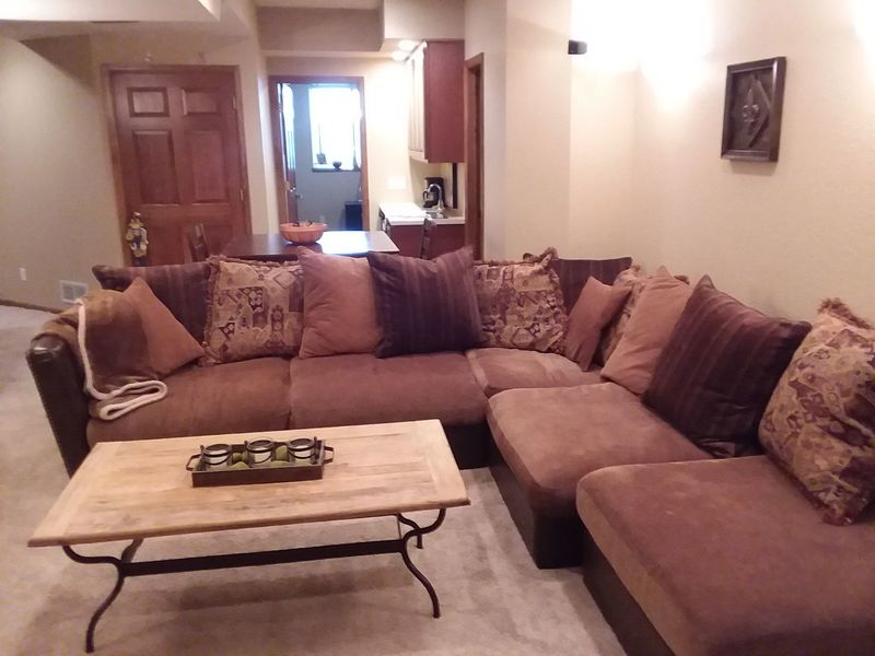 900sq.ft. Furnished basement in single family home in Broomfield, CO