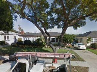 own home in Inglewood, CA