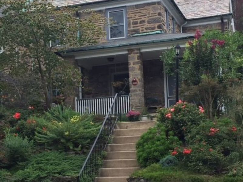 West Mt Airy stone cottage in Philadelphia, PA