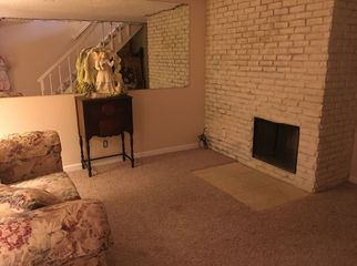 Basement in townhome, bed, bath and living area in Aurora, CO