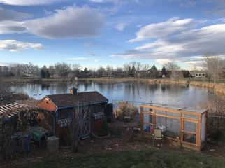 Nice room in a small town on the edge of a pond in Berthoud , CO