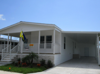 Mobile Home located in a 55+ Community  in Clearwater , FL