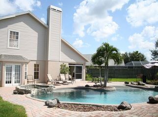 Beautiful Lagoon Style Pool Home  in Brandon, FL